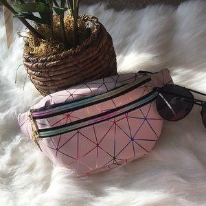 Handbags - Ladies/Girls Pink Fanny Pack